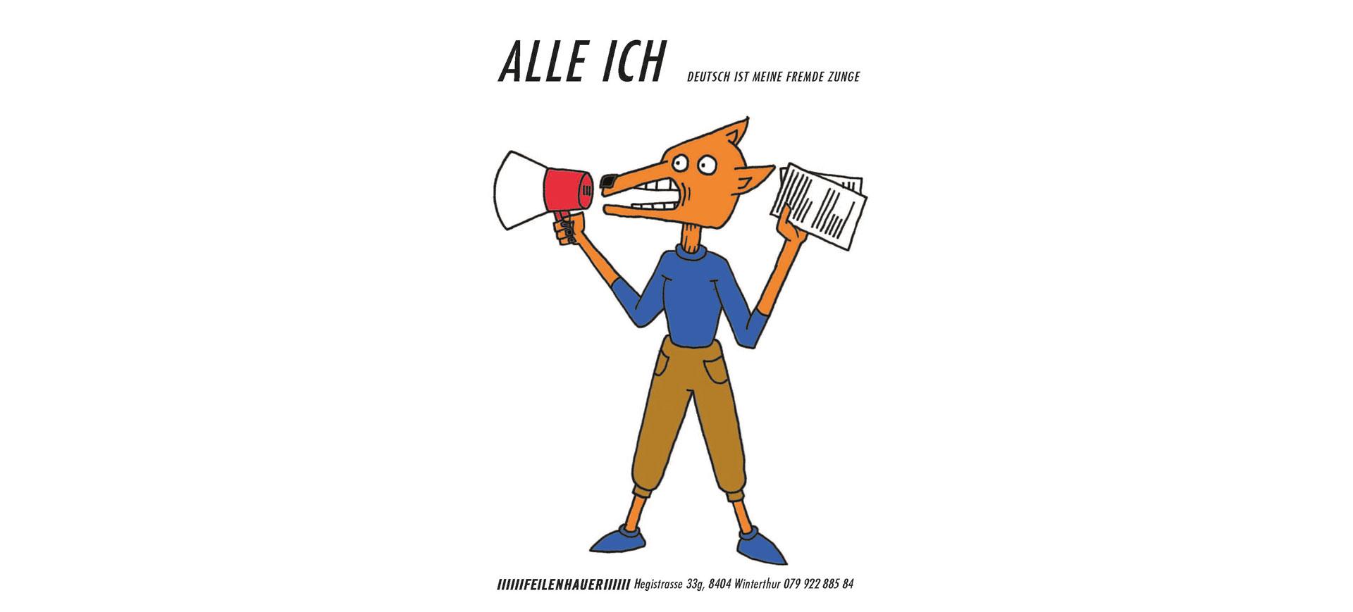Alle ich – Deutsch ist meine fremde Zunge