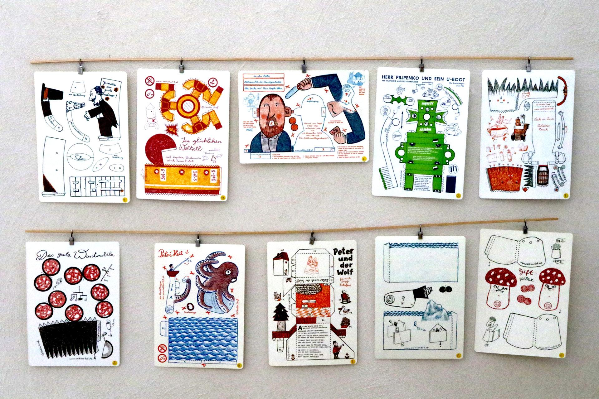 Frühlingsmarkt: zauberhafte Papierspielereien von Martin Graf