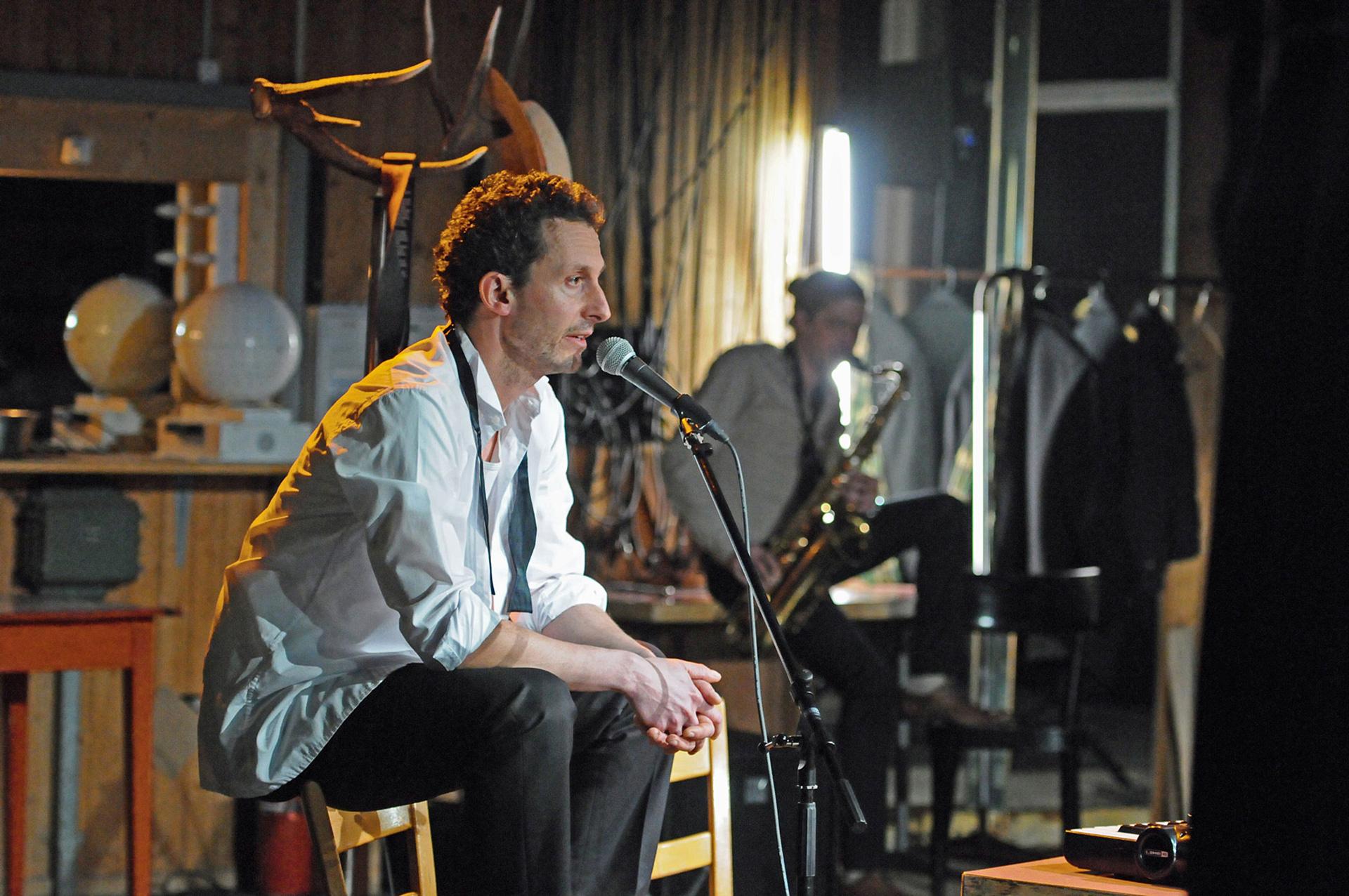 New Orleans von Jens Nielsen mit Peter Hottinger (der Mann) und Christian Käufeler (der Musiker) am 3. Mai 2019