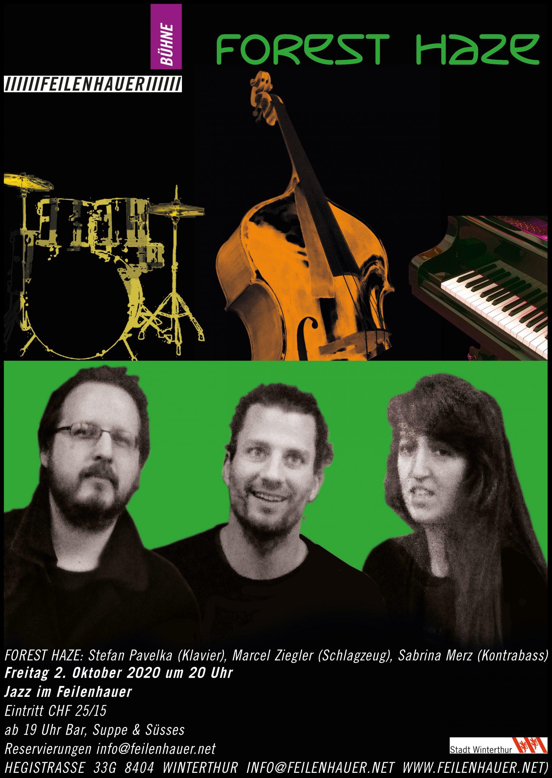 abgesagt: 12. Dezember Jazz Duo Brodbeck (p)+ Girod (b) und Programmrückblick